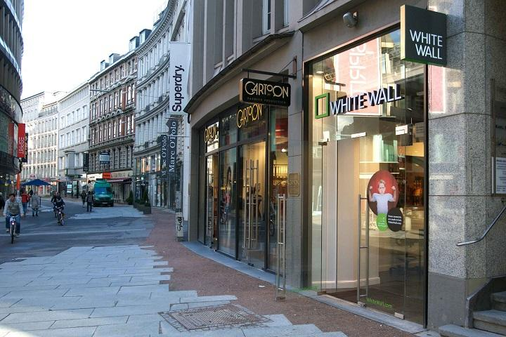 Der neue WhiteWall Store Hamburg