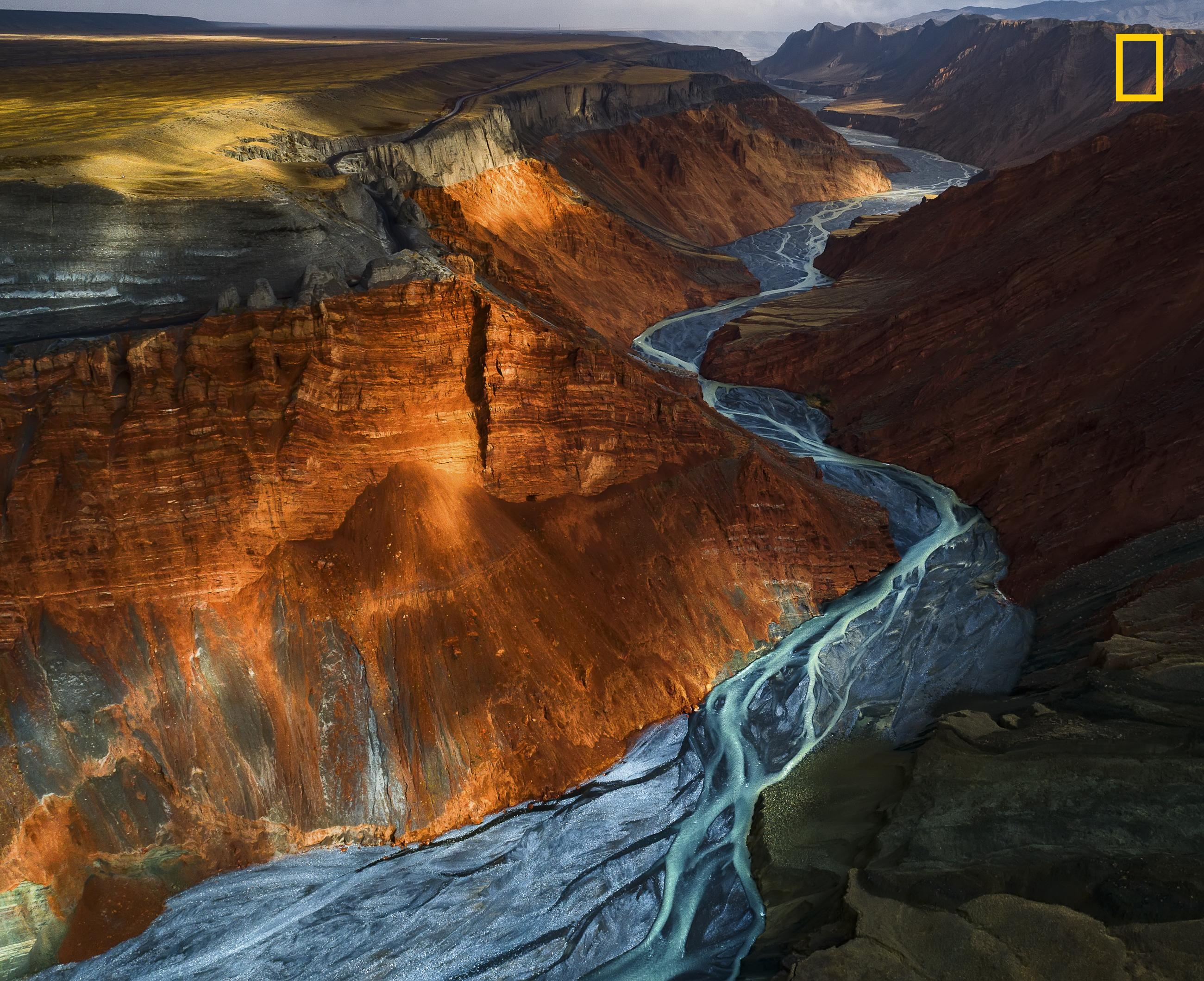 Yuhan Liao beim 2017 National Geographic Nature Photographer of the Year Award