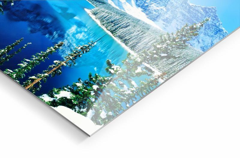 HD Metalprint für Winterbilder