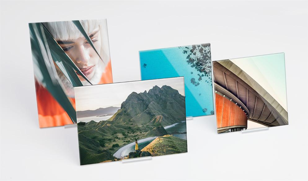 Acrylic glass: Create an acrylic photo pint