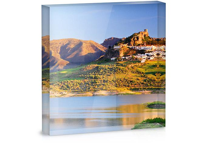 instagram pictures acrylic block
