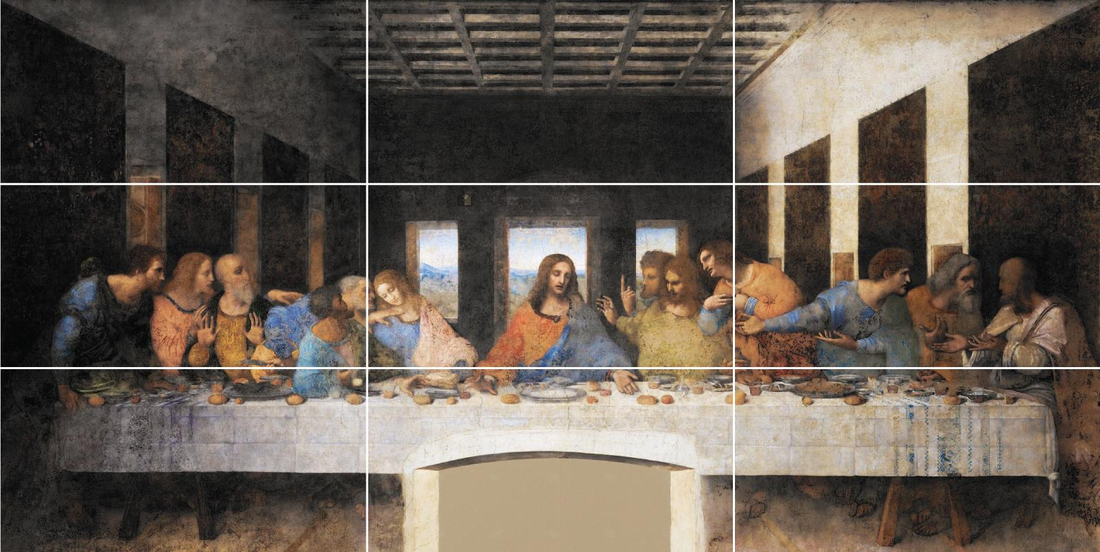 golden ratio in art da vinci last supper